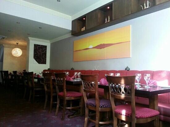 Ashoka: two floor restaurant