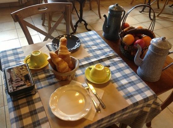 Cote Loire Auberge Ligerienne: breakfast