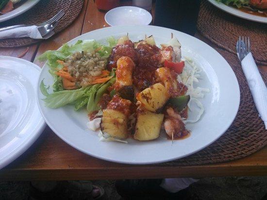 Rosetta Coffee Shop: my favourite, the Seafood Kebab.