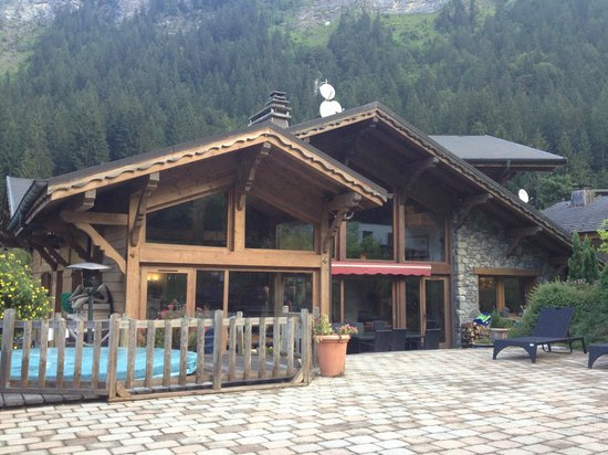 Chilly Powder: The chalet from the garden
