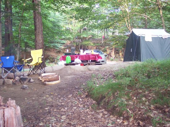 Old Forge Camping Resort: This was our campsite .. 632