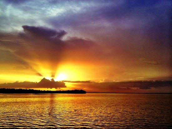 Chokoloskee Island Park and Marina : Sunset in Chokoloskee