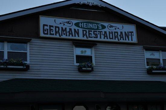 John Gyles Motor Inn & Restaurant : Heino's German Restaurant at John Gyles Motor Inn