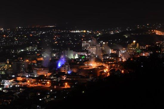 Happy Neko Beppu : Beppu at night