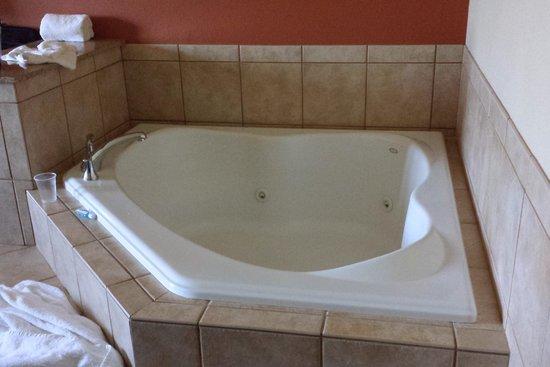Sleep Inn & Suites Madison : Beautiful Hot Tub