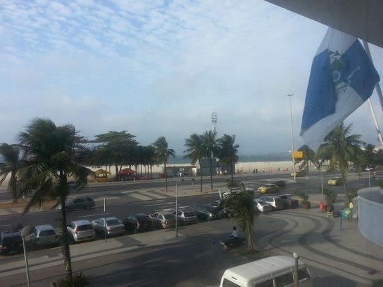 Hotel Atlantico Praia: Visão da janela do quarto 1o. andar