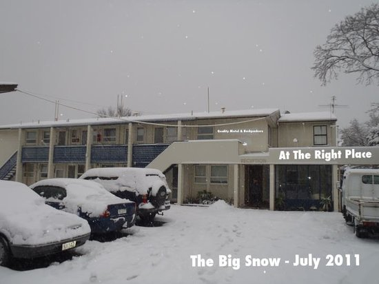 At The Right Place: The big snow