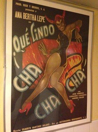 Zona Fresca: the bathroom poster