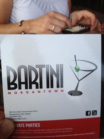 Bartini Prime: great place!!