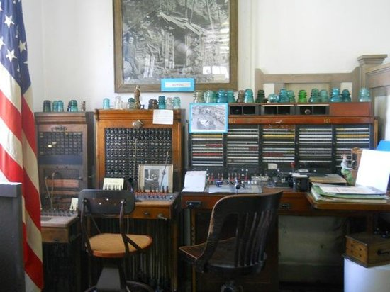 Asotin Museum: telephone exchange