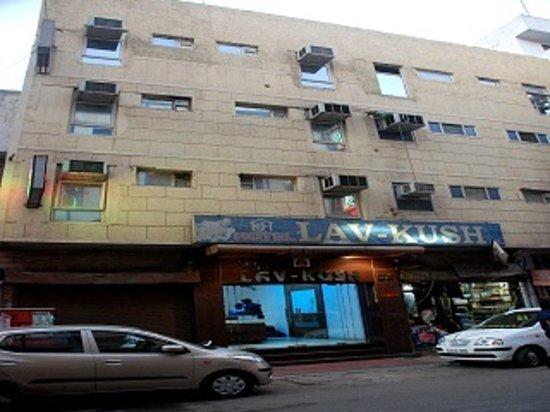 Hotel Lav-Kush Deluxe: Facade