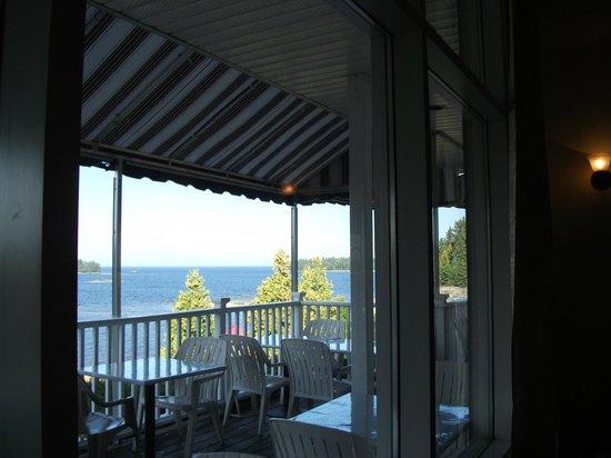 Auberge Des Iles : vue du restaurant
