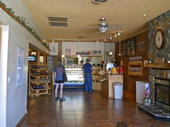 Asotin, WA: inside of bakery