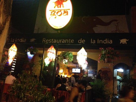 Goa: Best Indian food in Guadalajara , Mexico