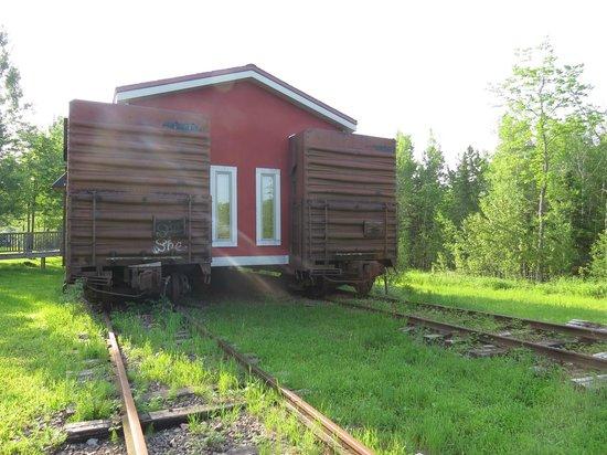 Northern Rail Traincar Inn: Railcar hotel