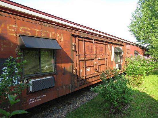 Northern Rail Traincar Inn: Train cars turned into hotel rooms