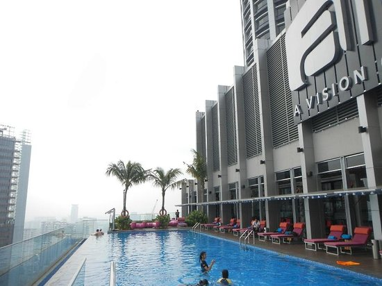 Rooftop swimming pool picture of aloft kuala lumpur - Rooftop swimming pool kuala lumpur ...