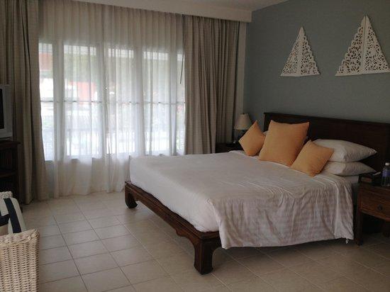 Laksasubha Hua-Hin: Verandah room bedroom
