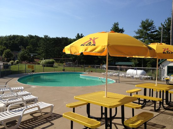 Hocking hills koa updated 2019 campground reviews ohio - Campgrounds in ohio with swimming pools ...