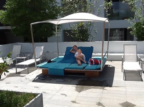 Nap Patong: pool side at The Nap