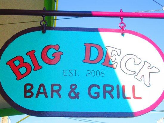 Big Deck Raw Bar: Fun Time Local Eatery Cedar Key Florida