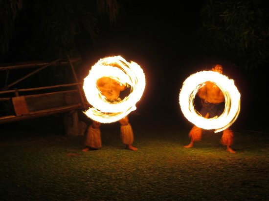 Fire Dancers - Picture of Highland Paradise Drums of our