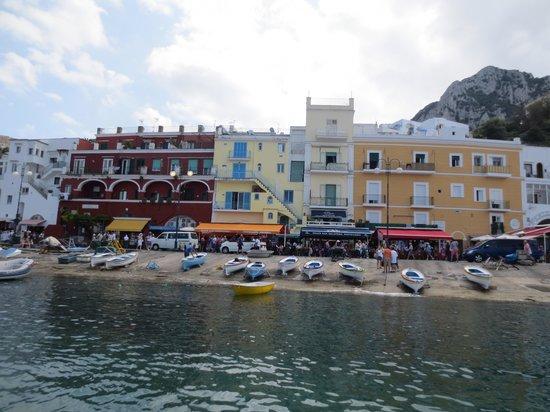 Hotel Relais Maresca : Arriving a Marina Grande