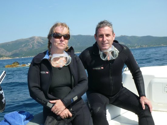 Diving in Elba: After the dive