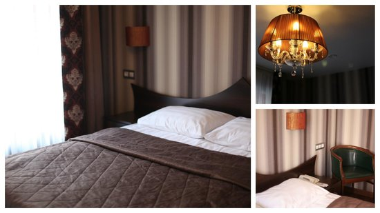 Martin Hotel: Bedroom details