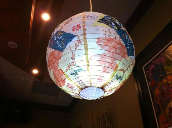 Sutton Park Inn : Akima House; Japanese Paper Lantern