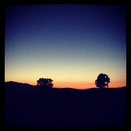Borgo Santa Maria : Il tramonto da li, impagabile