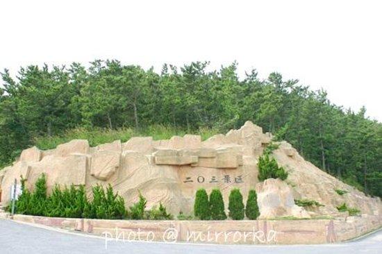 Dalian, Kina: Lushun 203Height  旅順 国家級森林公園二〇三高地 旅顺 203高地
