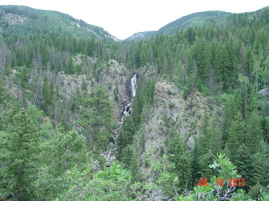 Very nice path picture of fish creek falls steamboat for Fish creek falls