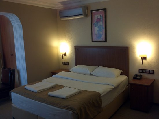 Sahil Butik Hotel : misafir odasi