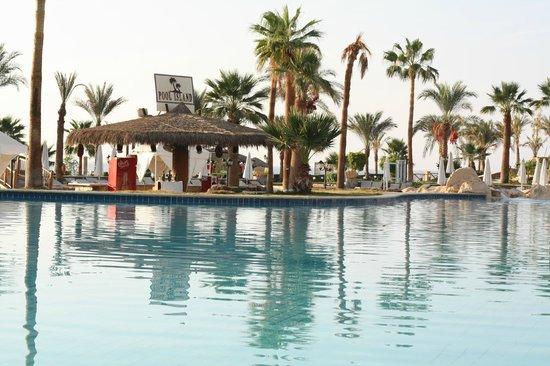 Hilton Sharm Waterfalls Resort : Salt water pool