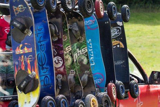 Board Riding Development Mountain Boarding Centre: boards