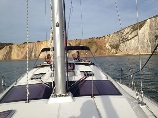 Escape Yachting - Day Sails: anchored for the evening meal