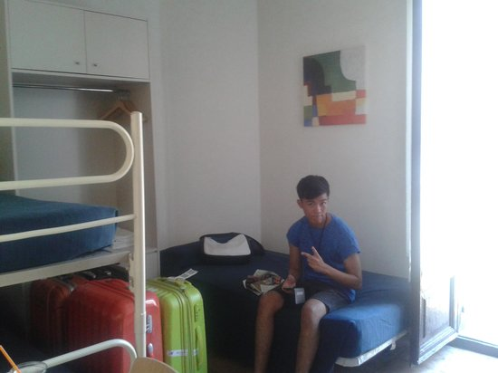 Pension Mariluz : the room