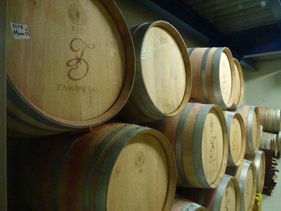 Zambartas Winery: Wines on oak