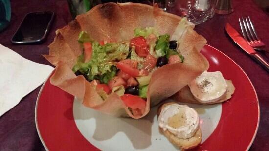 La Bodega : salade sequinette