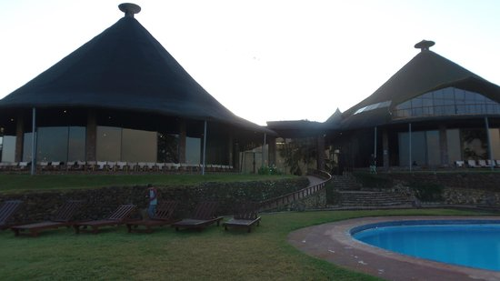 Ngorongoro Sopa Lodge: corpo centrale lodg