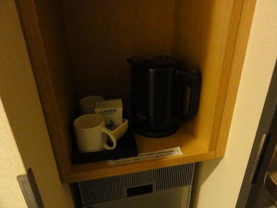 Akihabara Washington Hotel: tea/coffee