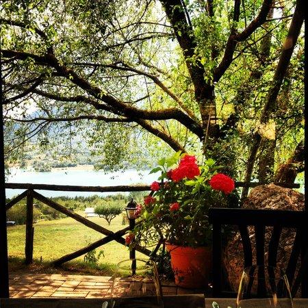 Barrea, Italië: Dal nostro tavolo...