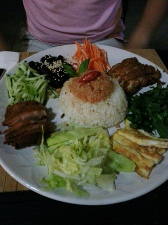 Nam Giao 31: Rice with crispy duck