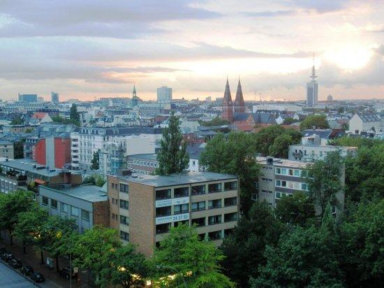 Novotel Suites Hamburg City hotel: Aussicht aus dem 10. Stock