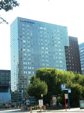 Novotel Suites Hamburg City hotel: Außenansicht des Hotels