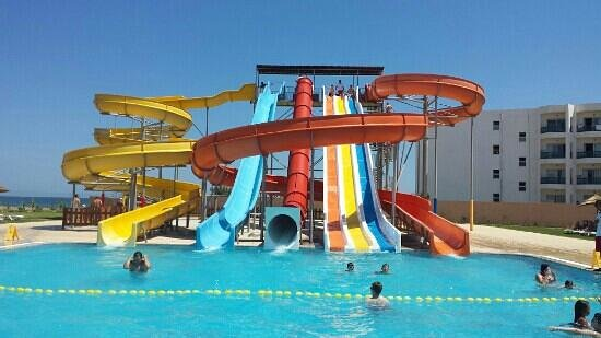 Skanes Family Resort: the water park