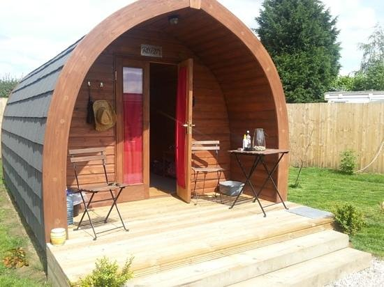 The Little Hide - Grown Up Glamping: the Little Hide, York
