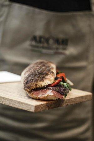 Aromi's panini
