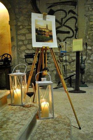 Museo del Vino: Accoglienza per la serata di degustazione